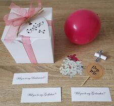 Personalised Balloon Box - Will you be my Chief Bridesmaid, Maid of Honour etc