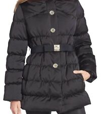 $698 Kate Spade NY Womens Black Becky Puffer Down/Feather Coat, XS