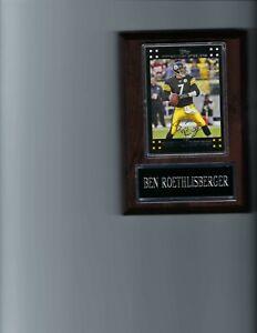 BEN ROETHLISBERGER PLAQUE PITTSBURGH STEELERS FOOTBALL NFL  C2