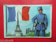 figurines cromos cards figurine sidam gli stati del mondo 100 francia bandiere k
