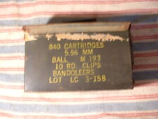 Ammo box 5.56 MM Ball M193 Bandoleers