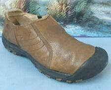 Keen Mens Hiking Brown Leather Shoe Size 11.5   SM0709