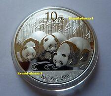China 10 Yuan Panda 1 Unze .999 Silber 2013