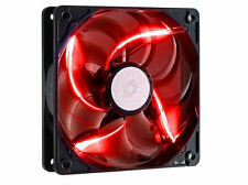 Rosewill RFA-120-RL 120mm Red LED PC Computer Case Fan with 3/4 Pin Power - NEW