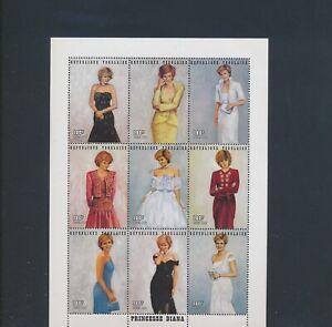 XC89262 Togo 1997 princess Diana royalty XXL sheet MNH