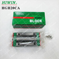 HIWIN Linear Guide Rail HGH20CA, CNC Router Parts Guide Block Made Taiwan