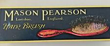Mason Pearson Child Pure Bristle CB4 Hair Brush - Blue