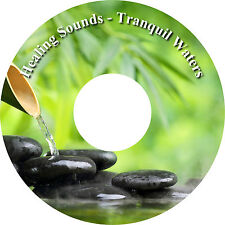 Healing Natural Sounds Tranquil Waters & Music Relaxation CD Stress Relief Sleep