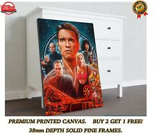 More details for total recall arnold classic movie large canvas art print gift a0 a1 a2 a3 a4