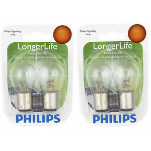 2 pc Philips 1176LLB2 Long Life Tail Light Bulbs for Electrical Lighting cy