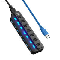 426F Port  USB  7  Für  PC  3.0  Ein / Aus-Schalter  Hub Kabel Extern Mit