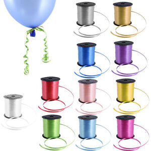 50 Metre Balloons String tie Curling Ribbons Colours Balloon Ribon / BALLON ROLL
