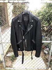 Allsaints Biker Jacket Kaho Custom  Like John V Zara Laurent Kollar