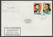 BR ANTARCTIC TERRITORY 1979 cover Royal Research Ship BRANSFIELD cachet.....T216
