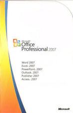 Office Professional 2007 5 Pc's