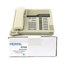 Nortel Norstar M7208 Ash Meridian Telephone Set - Top Quality Ref 1 Yr Warranty