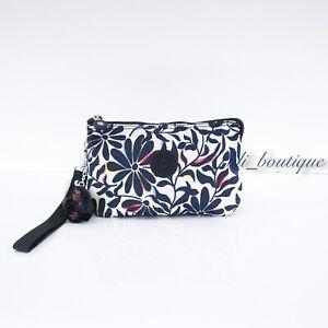 NWT Kipling AC7376 Creativity XL Extra Large Pouch Nylon Floral Flourish Multi