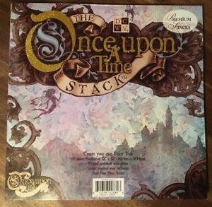 """U-choose DCWV """"Once Upon A Time"""" fantasy / fairy tale 12"""" x 12"""" scrapbook papers"""
