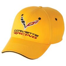 C7 Corvette Racing Yellow Cotton Hat