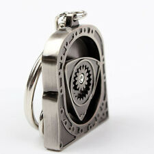 SILVER Keychain Engine Rotary Rotor Drift Racing Key Chain Keyring Keychain
