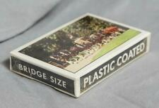 Vintage Anheuser Busch Clydesdales Bridge Size Unopened Playing Cards g50