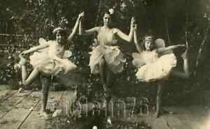 1930s Pretty Soviet Girls Teen Dancer Young Ballerinas tutu ballet Russia photo