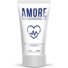 Lubrificante Intimo Gel Base acqua amore 100 ml dermatologicamente Testato