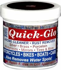 QUICK GLO ORIGINAL CHROME CLEANER AND RUST REMOVER--8oz