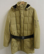Mens Woolrich Hooded -40 Degrees Below Blizzard Parka Down Coat Medium  : J731