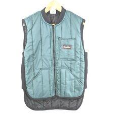 Refrigiwear Blue Extreme Cold Insulated Puffer Outdoor Work Vest Men Size Medium