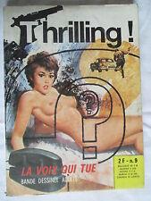 THRILLING 9  ELVIFRANCE 1973 RARE