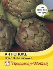 Thompson & Morgan-Hortalizas-alcachofa Verde Globo mejorado - 40 Semillas