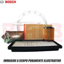 Kit 3 Pezzi Filtri Bosch per Opel Zafira B 1.6 CNG - 69 kw - Z16YNG - 94 CV