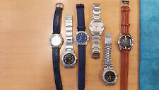 6x Herren Armbanduhren