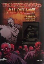 Walking Dead - All Out War Miniatures - Andrea Prison Sniper Game Booster (New)