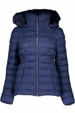 Guess talla s 36 señora chaqueta chaqueta invierno chaqueta Parka azul nuevo a6527