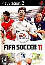 FIFA Soccer 11 (Sony PlayStation 2, 2010) new sealed rare *rated E*
