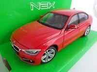 BMW 335i / Modellauto / Nex Modell / Rot / 1:24 / Welly / Neu / OVP