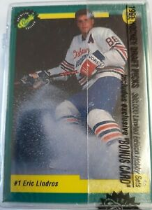 1991 Premier Edition of Classic's Hockey Draft Picks Cards Set in Case