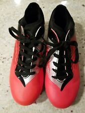Dream Pairs Kids/Youth Size 6M Red/Black Soccer Cleats, New