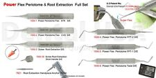 Dental USA-POWER FLEX PERIOTOME & ROOT EXTRACTION FULL SET OF 8 Code-1930FS