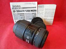 Sigma 70-300 mm 1:4-5,6 DL Macro Lens Made in Japan Original Verpakung