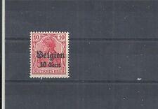 Landespost in Belgien,1916 Michelnrn: 14 a **, postfrisch, Michelwert € 3,50