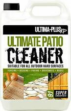 ULTIMA-PLUS XP XP Cleaner 5 litres Super Concentrate for Patios, Fencing,