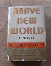 BRAVE NEW WORLD by Aldous Huxley -1st US edition - Doubleday - HCDJ -1932