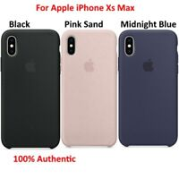 Original Apple Silicone Soft Case Cover Skin For Apple iPhone Xs Max