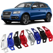 Alloy Steering Wheel DSG Paddle Extension Shifters Cover Fit For Audi SQ5 14-16
