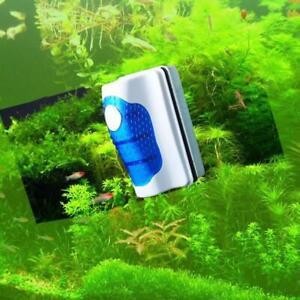 Magnetic Brush Aquarium Floating Glass Cleaner Algae Scrubber Fish Tank -10%off