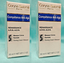 2 Coryse Salome Competence Anti-Age FIRMING CREAM MASQUE Facial Mask, 1.7 oz NEW