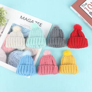 1/6 Dollhouse Miniature Fashion Knitted Beanie Hat Cap Doll House Decorat`sf